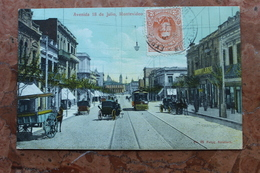 MONTEVIDEO - AVENIDA 18 JULIO (URUGUAY) - Uruguay