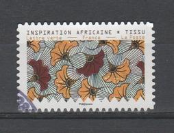 "FRANCE / 2019 / Y&T N° AA 1657 : ""Inspiration Africaine"" (position A1) - Choisi - Cachet Rond - Autoadesivi"