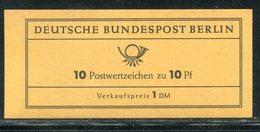 Berlin / 1965 / Markenheftchen Mi. 4a ** (ungeoeffnet !) (19172) - Markenheftchen