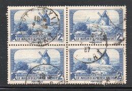 BLOC DE 4 YT 311 OBLITERES - BLOC SANS DEFAUT - - Frankreich