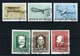 Austria Nº 694/5 Y Aéreo-63/5 USADO - 1945-.... 2ª República