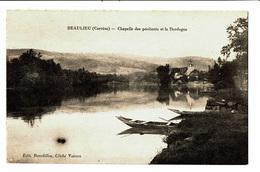 CPA - Carte Postale-France - Beaulieu - Chapelle Des Pénitents Et La Dordogne  VM4647 - Brive La Gaillarde