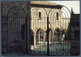 °°° Cartolina - Verucchio Chiostro Del Monastero Di S. Agostino Sede Del Museo Civico Viaggiata °°° - Rimini