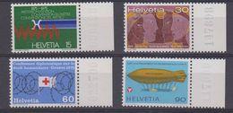 Switzerland 1975 Commemoratives 4v (sheet Number In Margin) ** Mnh (43521A) - Zwitserland