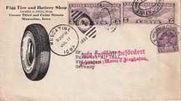 USA 1932 LETTRE ILLUSTREE DE MUSCATINE - Etats-Unis