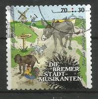 BRD 2017 Mi.Nr. 3287 , Bremer Stadtmusikanten - Grimms Märchen (VIII) - Selbstklebend - Gestempelt / Fine Used / (o) - BRD