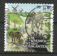 BRD 2017 Mi.Nr. 3287 , Bremer Stadtmusikanten - Grimms Märchen (VIII) - Selbstklebend - Gestempelt / Fine Used / (o) - Used Stamps