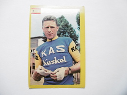 19D - Chromo Cyclisme équipe Kas Spain Francesco Gabica Ispaster - Trade Cards