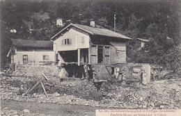 Schiers - Zerstörtes Haus Am Schraubach           (P-180-80611) - GR Grisons