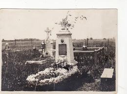 Russia Ukraine Photo Original. Graveyard Grave Military Lieutenant Colonel Selivanov - Personalidades Famosas