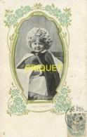 Publicité Pour Les Biscuits Germain à Lyon, Beau Lot De 7 Cartes D'enfants, Affranchies 1904 - Publicité