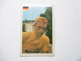 19D - Chromo Cyclisme équipe Molteni Germany Rudy Altig Manheim - Trade Cards