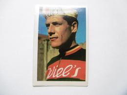19D - Chromo Cyclisme équipe Wiel's Belgique Gustaaf Desmet Mariakerke - Trade Cards