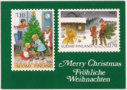 Suomi / Finland - Picture Motives Of The 1981 Christmas Stamps - Postzegels (afbeeldingen)