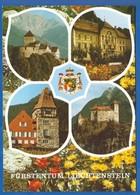 Liechtenstein; Multibildkarte - Liechtenstein