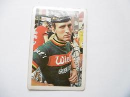 19D - Chromo Cyclisme équipe Wiel's Belgique Walter Godefroot Gent - Trade Cards