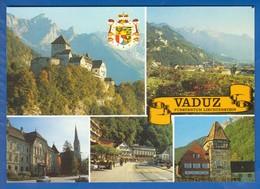 Liechtenstein; Vaduz; Multibildkarte - Liechtenstein
