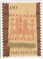 Suomi / Finland - Karelian Festal Towel 'Käspaikka' - Grand Prix Of European Philatelic Art In 1980 - Postzegels (afbeeldingen)
