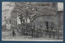 PARIS - Vieux Montmartre - Cabaret Du Lapin Agile Et Le Dernier Porteur D' Eau - District 18