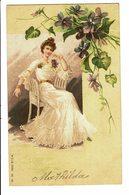 CPA - Carte Postale-Belgique - Jeune Femme Assise 1903  VM4650 - Femmes