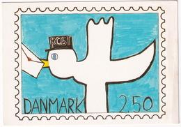 Danmark - Vindertegningen Frimaerke,  5. Oktober 1984 - Postzegels (afbeeldingen)