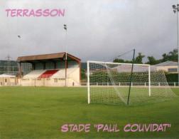 AK Stadion Postkarte Stade Paul Couvidat Terrasson FRANCE Frankreich Stadium Postcard Stadio Estadio Foot Calcio Futbol - Fussball