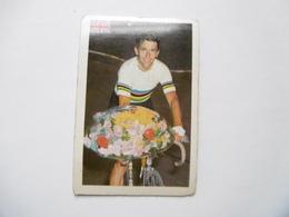 19D - Chromo Cyclisme équipe Royaume Uni Greet Britain Tom Simpson Doncaster - Trade Cards