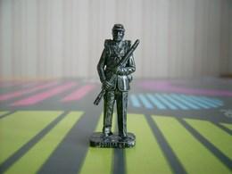Kinder Métal Fer Soldat Sudista 4 - Figurines En Métal