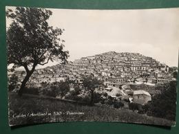 Cartolina Calitri - Avellino - Panorama - 1962 - Avellino