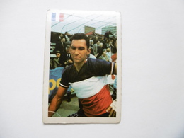19D - Chromo Cyclisme équipe ? France Jean Stablinsky Thun Saint Amand - Trade Cards