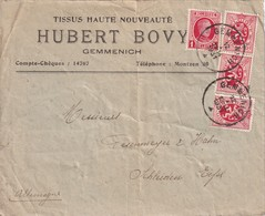 BELGIQUE 1931 LETTRE DE GEMMENICH - Belgium