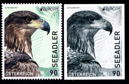"AUSTRIA/Österreich EUROPA 2019"" ""National Birds"" 1v+1v** - 2019"
