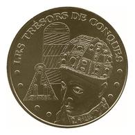 Monnaie De Paris , 2010 , Conques , Les Trésors De Conques - Monnaie De Paris