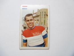 19D - Chromo Cyclisme équipe Televizier Pays Bas Holland Johan De Roo - Trade Cards