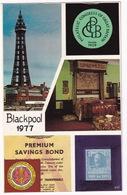 Blackpool 1977 - Philatelic Congress Of Great-Britain - Postzegels (afbeeldingen)