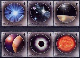 Europa 2009 - Guernsey Guernesey ** (série Complète 6 Valeurs) - Astronomy