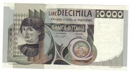 10000 LIRE DEL CASTAGNO 30 10 1976 SUP/FDS + 10000 LIRE DEL CASTAGNO 06 09 1980 SUP/FDS LOTTO 2646 - [ 2] 1946-… : Repubblica