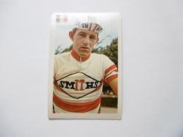 19D - Chromo Cyclisme équipe Smith Belgique Belgie Albert Van Vlierberghe Belsele - Trade Cards