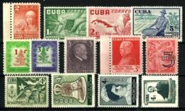 Cuba Lote 10 Series Nuevas - Cuba