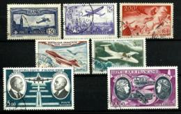 Francia Correo Aéreo Nº 6-10-19-30-46-47 Usados - Airmail