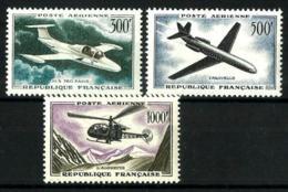 Francia Correo Aéreo Nº 35/37 En Nuevo - 1927-1959 Nuevos