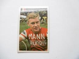 19D - Chromo Cyclisme équipe Mann Belgique Belgie Walter Boucquet Meulebeke - Trade Cards