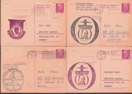 Fleet Post , Flottenpost USSTinosa (SSN606) Commanding Officer, Delphin Germany East Card Portsmouth NH 1971, Defense - Maritime