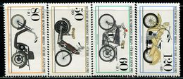 AG0251 West Berlin 1983 Various Motorcycles 4V MNH - Europe (Other)