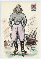 CPSM 10.5 X 15 Costume Folklorique ARTOIS Homme Illustrateur Margotto - Andere Illustrators