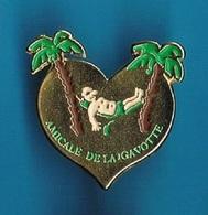 1 PIN'S  //   ** AMICALE DE LA GAVOTTE / LE PONTET ** - Associations