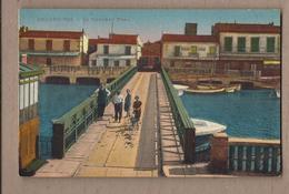 CPA 30 - GRAU-DU-ROI - Le Nouveau Pont - TB PALN EDIFICE Sur Canal CENTRE VILLAGE + ANIMATION Avec Poussette - Le Grau-du-Roi