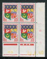 FRANCE ( COINS DATES ) : Y&T N°  1230A  COIN  DATE  DU  20/09/60  TIMBRES  NEUFS  SANS  TRACE  DE  CHARNIERE . - 1960-1969