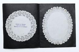 Pubblicità Brochure Articoli Alberghi Platzer Kofler Merano Carte Piatti Anni 30 - Pubblicitari