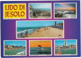Lido Di Jesolo - 8 Printed 'stamps'   - (Italia) - Postzegels (afbeeldingen)
